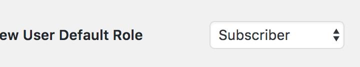 改變 WooCommerce 註冊使用者的預設角色