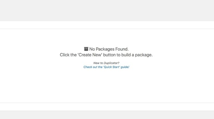 WordPress 備份插件 – 使用 duplicator 備份網站