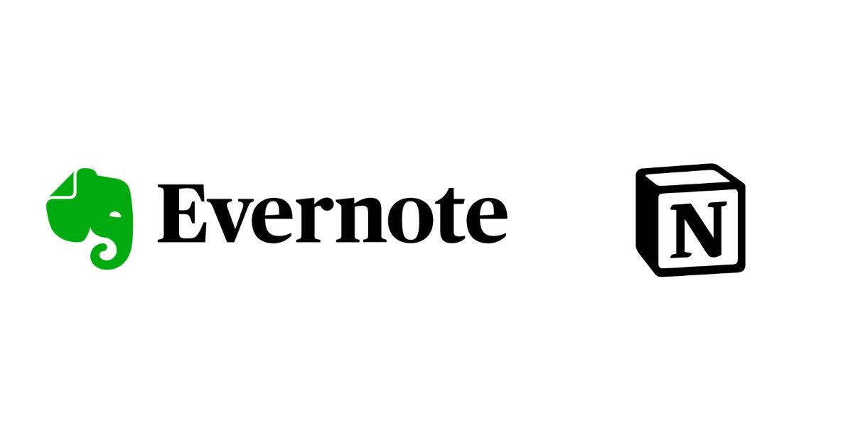 evernote v.s notion